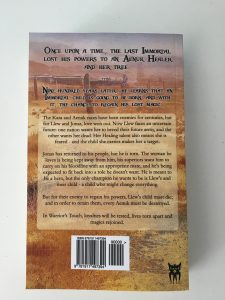 Back cover of Warrior's Touch by Deb E Howell