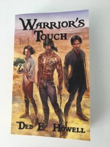 Front Cover of Warrior's Touch by Deb E Howell