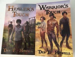 Healer's Touch and Warrior's Touch by Deb E Howell