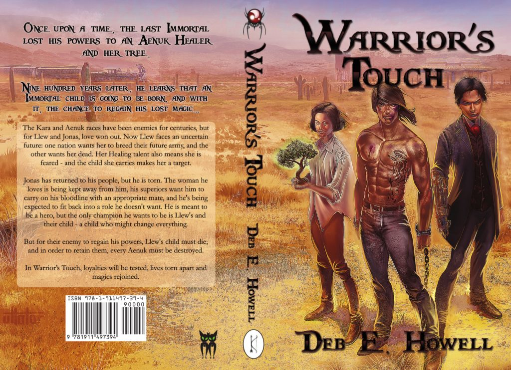Warrior's Touch Deb E Howell cover full paperback