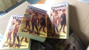 Warrior's Touch paperbacks (3)
