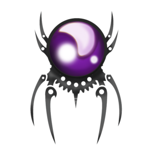 Spider Logo PURPLE